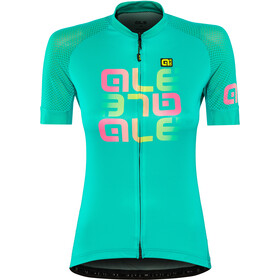 Alé Cycling Solid Mirror SS Jersey Dame green